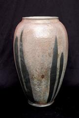 "Jar - Copper Glaze - 14""H"