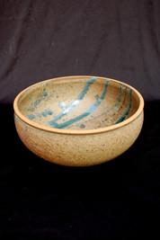 """Bowl - Ash Glaze - 6""""H"""