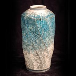 "Jar - Copper Glaze - 8""H"