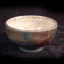 "Bowl - Copper Glaze - 5""H"