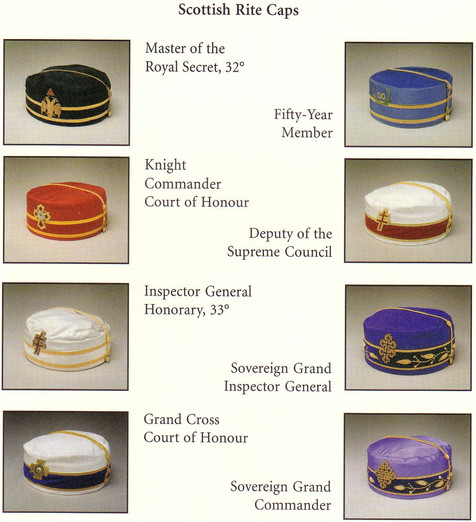 Scottish Rite Caps.JPG