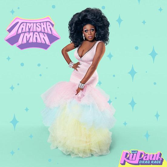 RuPaul's Drag Race Season 13 Tamisha Iman Autographed Promo