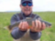 Arctic char fishing in Iceland