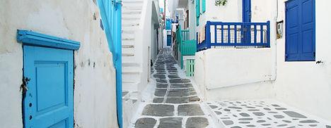 Street Scene Greece