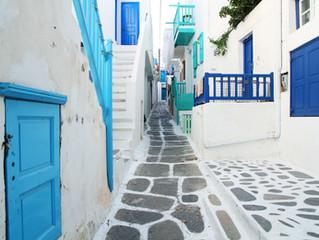 Hello, calm streets of Greece...