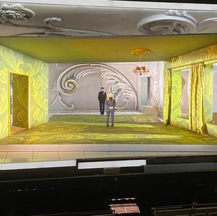 Der Rosenkavalier stage set