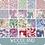 Thumbnail: Tilda Woodland 5 PC Fat Quarter Bundle | Lilac