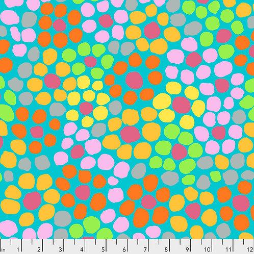 Flower Dot in Aqua | Kaffe Fassett Collective