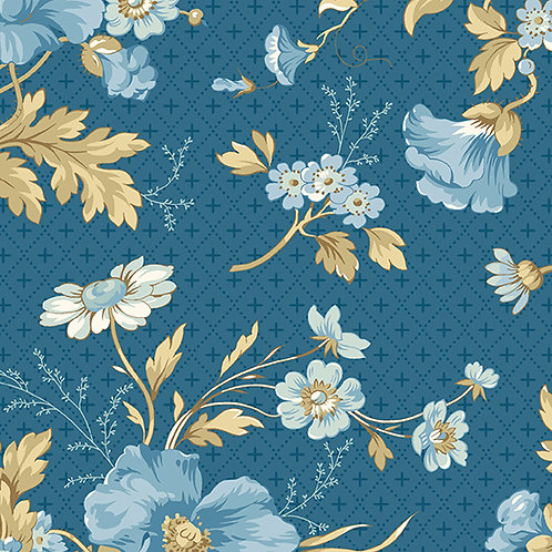 Bouquet | Color: Liberty | Edyta Sitar for Laundry Basket Quilts | A-9577-B