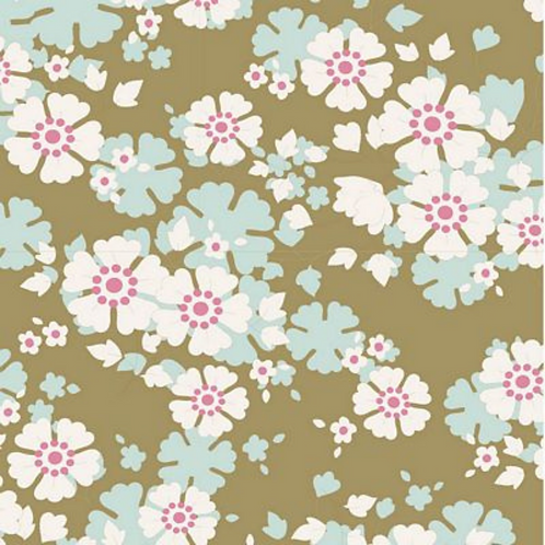 Aster Olive | Tilda | Woodland Collection