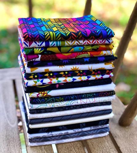 Art Theory | Fat Quarter Bundle | 42 pc | Alison Glass for Andover Fabrics