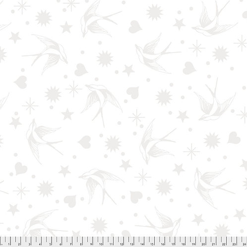 White Paper Fairy Flakes | Linework | Tula Pink