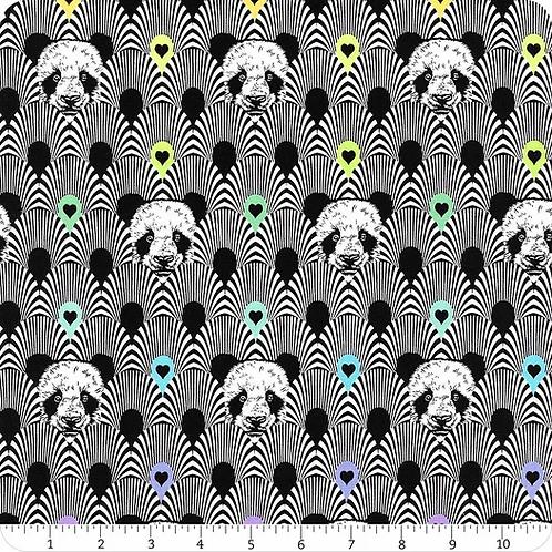 Pandamonium | Linework | Tula Pink