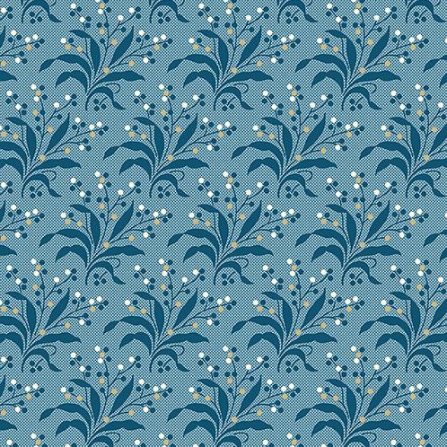 Fern | Color: Cornflower | Edyta Sitar | Laundry Basket Quilts | A9580-B