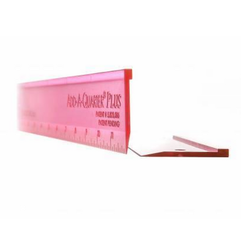 Add A-Quarter Ruler | 6in Plus Pink | Breast Cancer Awareness