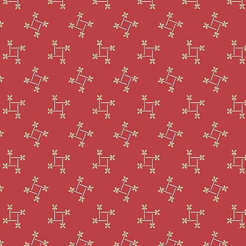 Pinwheel | Color: Red | Edyta Sitar for Laundry Basket Quilts