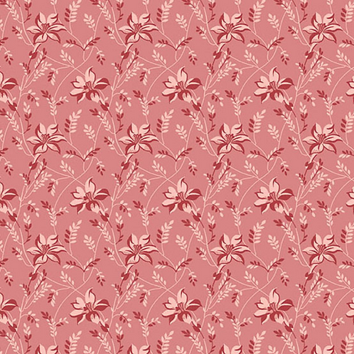 Buds & Vines | Color: Pink | Edyta Sitar | Laundry Basket Quilts | A-8753-E1