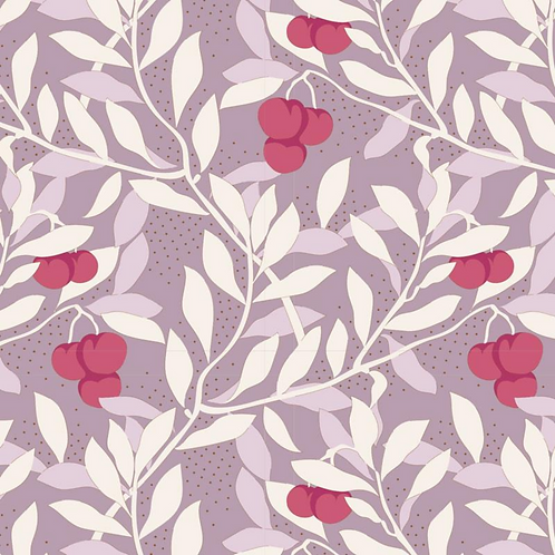 Cherrybush Mauve | Tilda | Maple Farms Collection