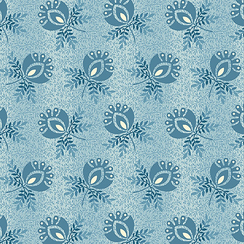 Boutonniere | Color: Blue Frost | Edyta Sitar | Laundry Basket Quilts | A9579-B