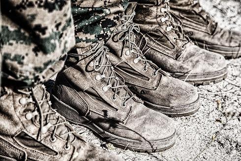 United states Marine Corps Combat boots