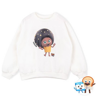 브레드이발소-헤이초코 맨투맨 티셔츠
