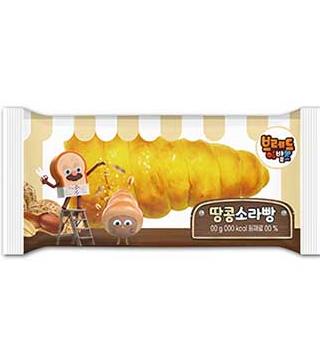 브레드이발소-땅콩 소라빵