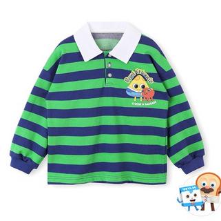 브레드이발소-치즈앤소시지 카라 티셔츠