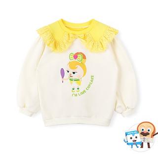 브레드이발소-레몬크림컵케익 맨투맨 티셔츠