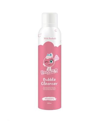 Inked브레드이발소-밀크바오밥 베이비&키즈 버블클렌저 핑크 200ml(브레드이발소 에디션)