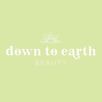 Down to Earth Beauty Primary Logo Green.