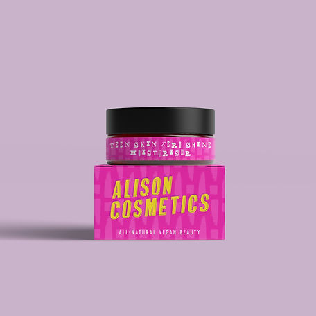Alison Cosmetics Pink Skincare Jar Packaging.jpg