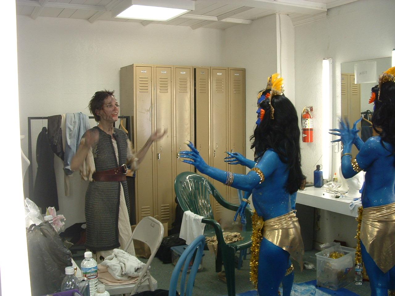 Ste. Jeanne directing Kali
