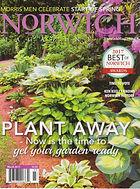 Magazine cover Norwich Magazinewith garden