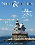 magazine cover Sound & Country with lighthouse