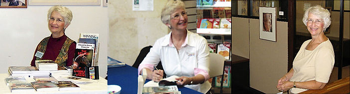 Toni Leland book signins