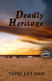 Book cover Deadly Heritage Toni Leland