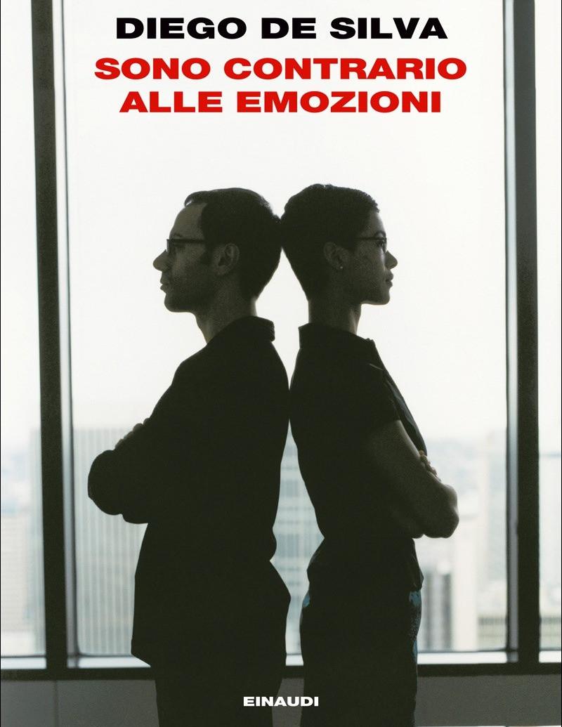 """""""Sono contrario alle emozioni"""" di Diego De Silva - copertina Einaudi"""