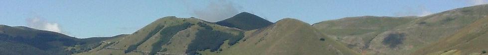 La forza dei Monti Sibillini alle intemperie