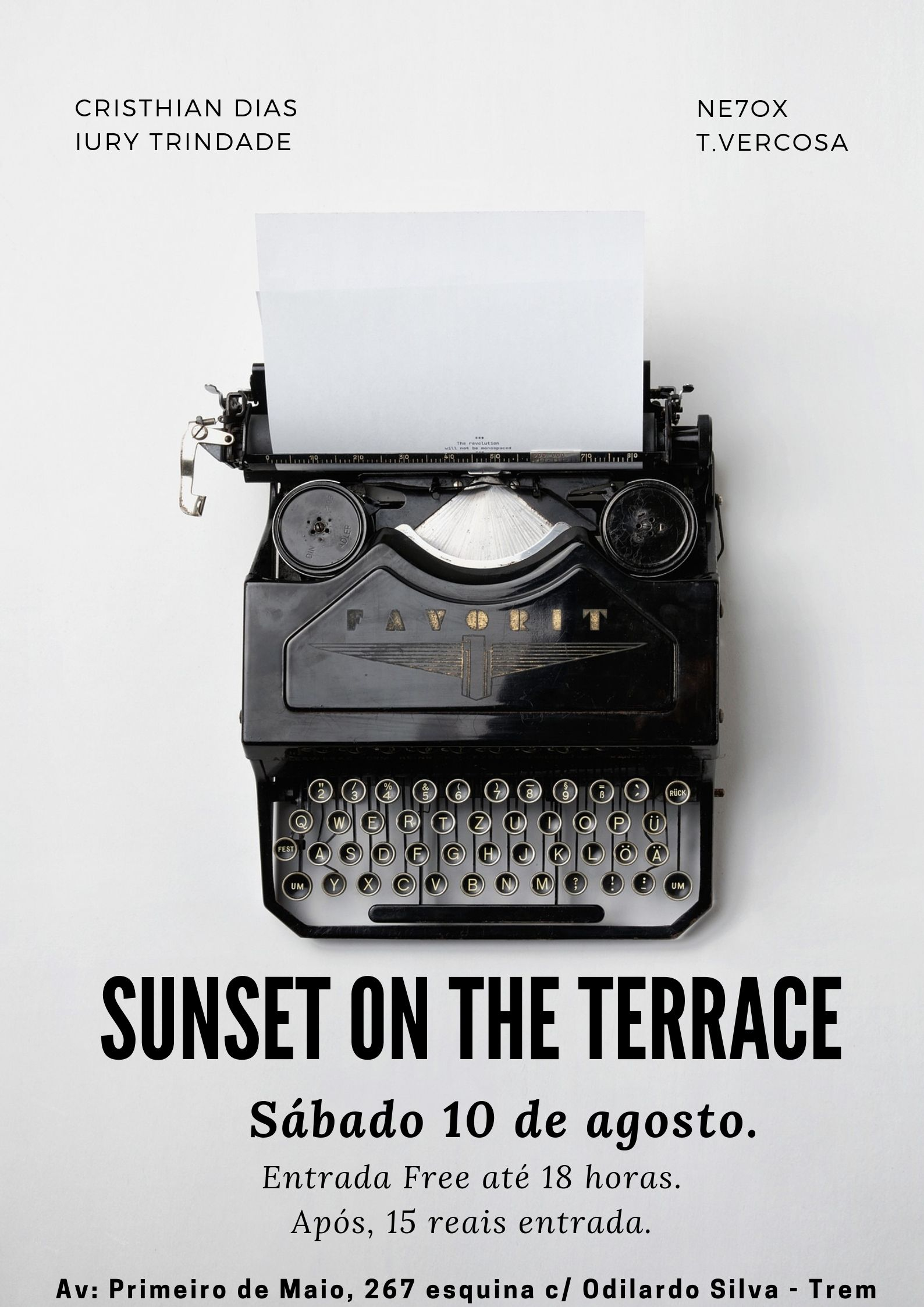 Sunset on the terrace 10_08_2019