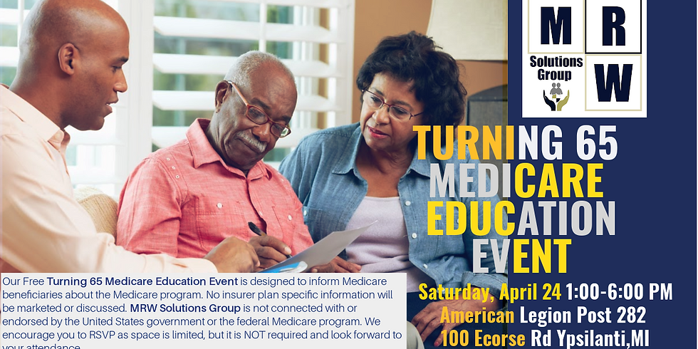Turning 65 & Above | ON-SITE Drop-In Medicare Education Workshop - Washtenaw Cty.