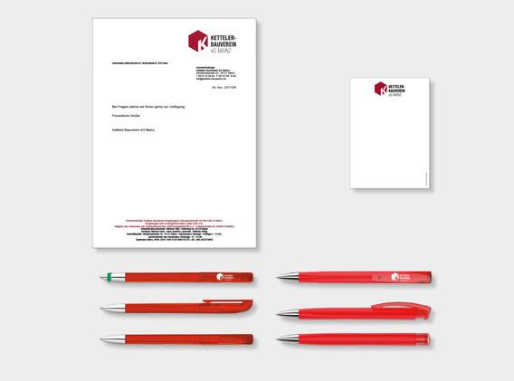 Logodesign Ketteler Bauverein Mainz