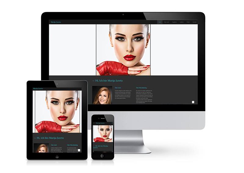 Website Kosmetikstudio Marija Jureta