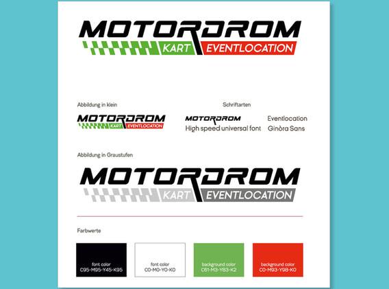 Logodesign Motordrom