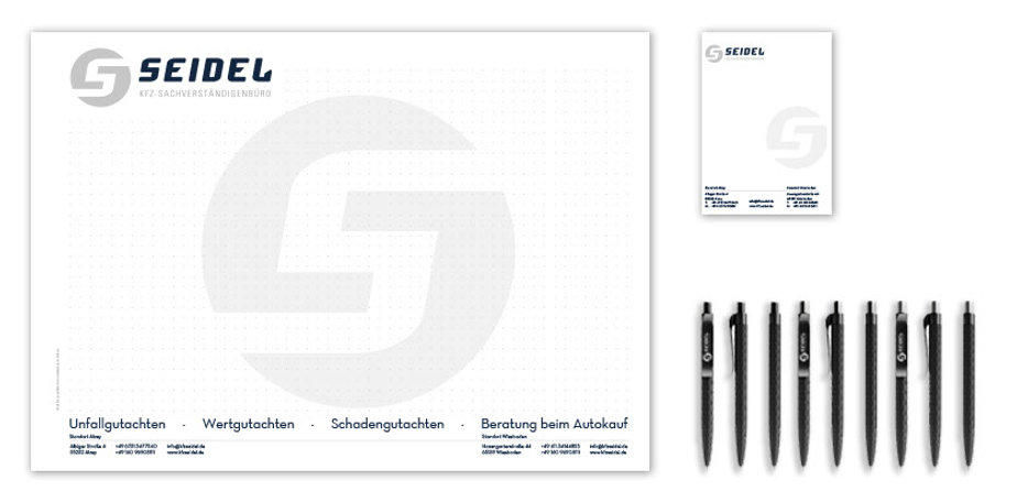 Corporate Design KFZ Seidel Alzey