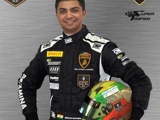 FFF Racing bring Indian racer Parth Ghorpade in for 2017 Lamborghini Super Trofeo