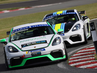 Bartholomew Continues Run of Form with another Double Podium at Oulton Park