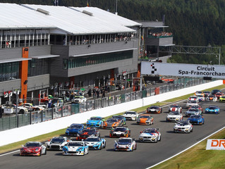 GT4 EURO LEADER MIDDLETON INCREASES POINTS ADVANTAGE WITH FIFTH PODIUM OF YEAR AT SPA