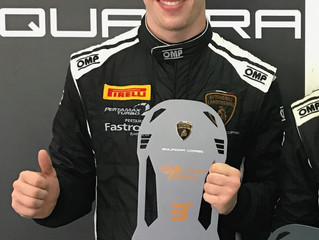 PODIUM FINISH FOR BARTHOLOMEW ON  SUPER TROFEO ASIA DEBUT
