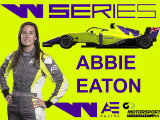 Abbie Eaton selected for W Series 2020