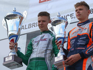 Go Motorsport Management Drivers take top two spots in the European IAME X30 Senior Championship